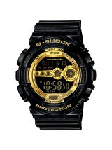 G-SHOCK/M)GD-100GB-1JF/Black×Gold Serie
