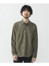 LIBECO ルーズフィットシャツ