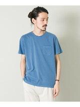 カラフルクルーネックポケットTシャツ