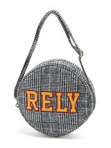 【BROWNY】(L)RELYチェックサークルショルダーバッグ