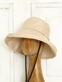 Afternoon Tea UVカットエッジアップハット アフタヌーンティー・リビング 帽子/ヘア小物 帽子その他 ホワイト ネイビー