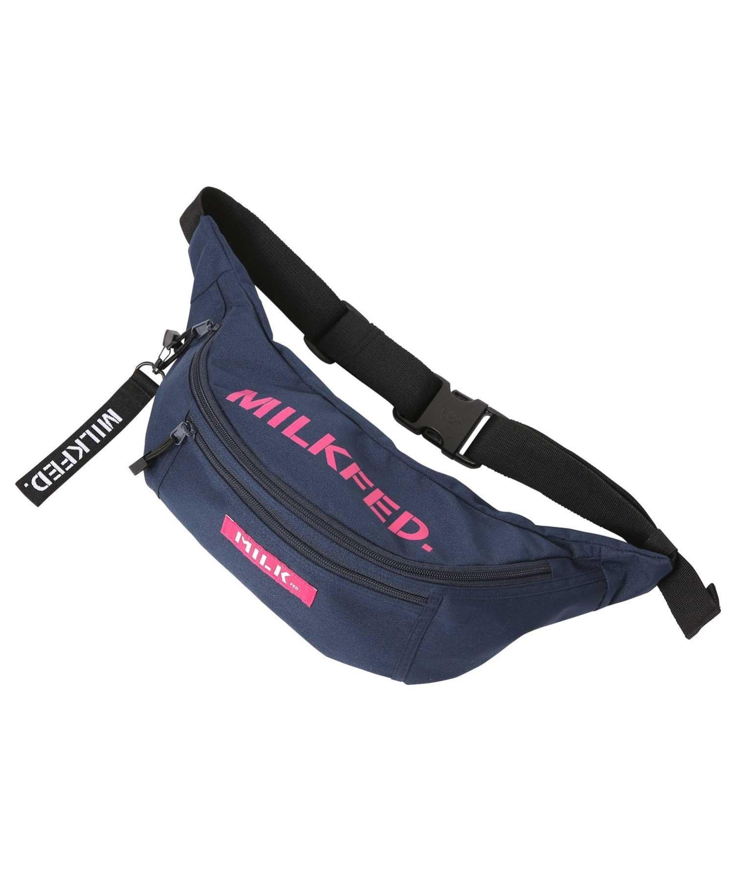 MILKFED. TOP LOGO FANNY PACK ミルクフェド バッグ【送料無料】