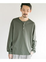SMOOTH HENLEY OVER LONG-SLEEVE T-SHIRTS