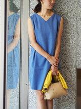 ●JOC タックワンピース+7分袖 カーディガンセット
