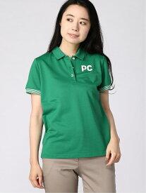 【SALE/50%OFF】Picone Club Picone Club/(W)ポロシャツ(H) ピッコーネクラブ カットソー ポロシャツ グリーン ホワイト レッド【送料無料】