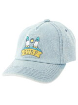 DENIM EMBRO CAP