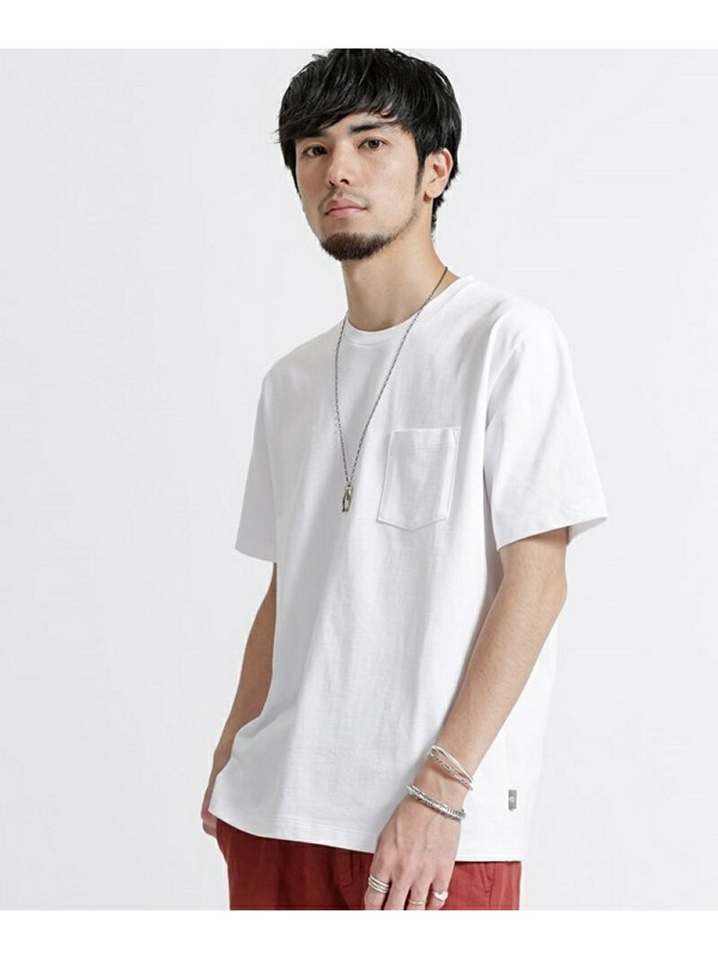 【SALE/40%OFF】nano・universe ポケ付Big Tシャツ ナノユニバース カットソー【RBA_S】【RBA_E】