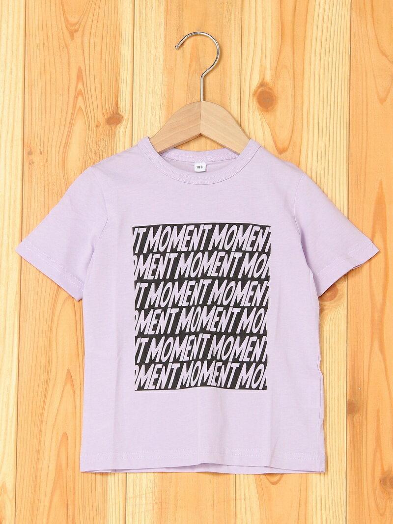 b・ROOM 【EC別注】半袖Tシャツ(バインダー付き) ナルミヤオンライン カットソー