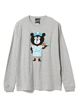 【SPECIAL PRICE】The Wonderful! design works. / Fast Food BEAR Long Sleeve Tee