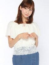 【Ray(9/23売)】スソレースラッフルブラウス