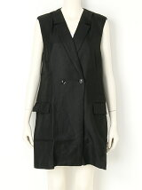 CUT OFF LONG VEST