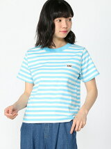 STRIPED BASIC TEE