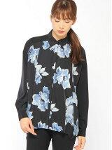 ATSURO TAYAMA/ビッグフラワープリントシャツ