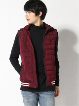 (M)TILLY HOODED PUFFER VEST