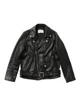 (W)vintage leather riders jacket