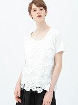 Tシャツ&レースキャミソールセット