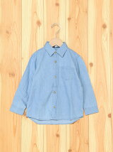 (K)バックプリントシャツLS