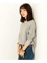 MELANGE FRENCH TERRY カットソー