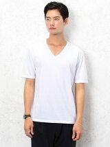 [ドライグリーン] KC ◎DRY/G Vネック S/S Tシャツ