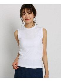 【SALE/50%OFF】Dessin 【洗える】【Lサイズあり】ミラーフライスノースリーブTシャツ デッサン カットソー Tシャツ ホワイト グリーン ネイビー ブラック