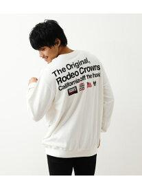 【SALE/10%OFF】RODEO CROWNS WIDE BOWL メンズ LOGOスウェット ロデオクラウンズワイドボウル シャツ/ブラウス 長袖シャツ ホワイト ブラック ネイビー【送料無料】