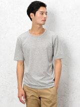 [ドライグリーン] KC ◎DRY/G クルーネック S/S Tシャツ