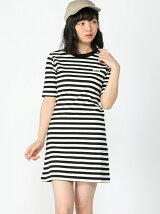 STRIPED BASIC T DRES