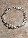 IDEALITE IDEALITE:KIHEI CHAIN BRACLET WIDE:イデアライト 喜平チェーンブレスレット ワイド マージン【先行予約】*【送...