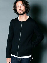 URAKE NO COLLAR ZIP NARROW BLOUSON