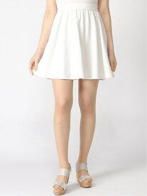 【SALE/70%OFF】NIMES (L)ニットカルゼ ギャザーSK ニーム スカート ミニスカート ホワイト ネイビー グリーン