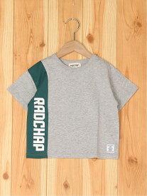 【プチプラ】縦ロゴ半袖Tシャツ ブランシェス カットソー