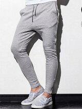 AKM Contemporary/裾ファスナー付ジョガーパンツ