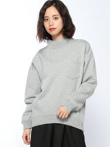 BOTTLENECK SWEAT TOP