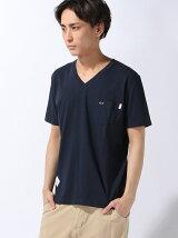 SUN68 × BEAMS /  別注 Vネック Tシャツ