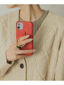 URBAN RESEARCH 【予約】【WEB限定】【別注】hashibami×UR iphone case 11/XR アーバンリサーチ ファッショングッズ 携帯ケース/アクセサリー レッド