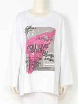 Dirty band ロング Tシャツ