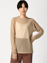 G.V.G.V./(W)SEE THROUGH L/S TOP
