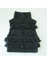 Fringe Knit Vest