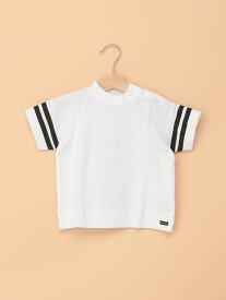 【SALE/40%OFF】branshes 袖ラインデザインTシャツ ブランシェス カットソー【RBA_S】【RBA_E】