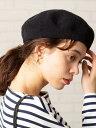 coen サーモベレー帽 コーエン 帽子/ヘア小物 ベレー帽 ブラック グレー ブラウン