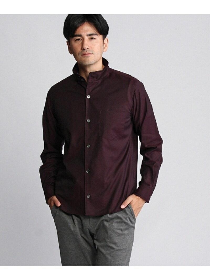 【SALE/60%OFF】TAKEO KIKUCHI シャンブレースタンドカラーシャツ タケオキクチ シャツ/ブラウス【RBA_S】【RBA_E】【送料無料】