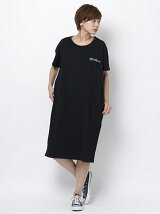BIG POCKET TEE DRESS