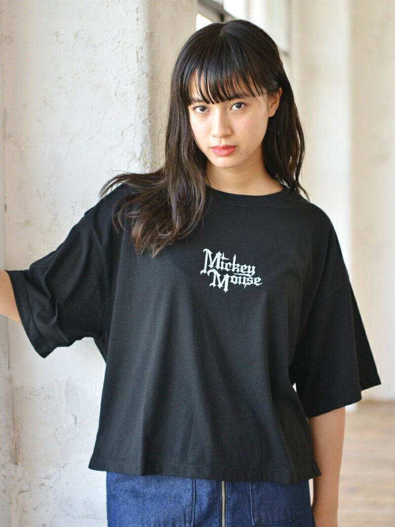 E hyphen world gallery Gold Label Mickey Mouse Tシャツ(G) イーハイフンワールドギャラリー カットソー