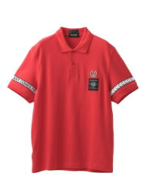 【SALE/40%OFF】GUILD PRIME 【FREDPERRY×ARTCOMESFIRST】MENポロシャツSM5121 ラブレス カットソー ポロシャツ レッド ブラック【送料無料】