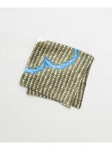URBAN RESEARCH Tailor 刺繍フラワープリントチーフ(U17E4007)