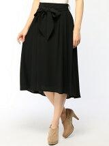 ENNEA/(W)ダブルジョーゼットフレアースカート