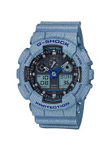 G-SHOCK/(M)GA-100DE-2AJF/DENIM 'D COLOR