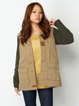 [アウトレット]【W】袖切替F2ジャケット