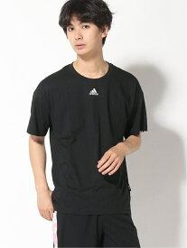 【SALE/50%OFF】adidas Sports Performance マストハブ 3ストライプス 半袖Tシャツ [Must Haves 3-Stripes Tee] アディダス アディダス カットソー Tシャツ ブラック ホワイト