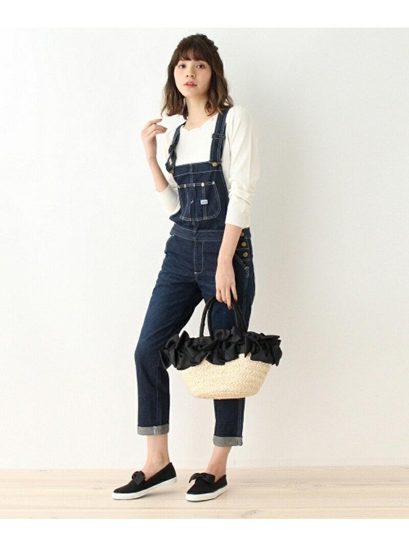 【SALE/50%OFF】Couture brooch Lee デニムオールインワンパンツ クチュールブローチ パンツ/ジーンズ【RBA_S】【RBA_E】【送料無料】